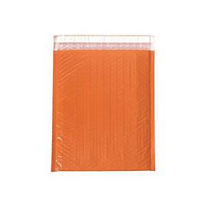 PK10 COLOR BUB MAILER BAG 290X340MM ORGE