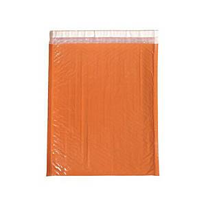 PK10 COLOR BUB MAILER BAG 330X380MM ORGE