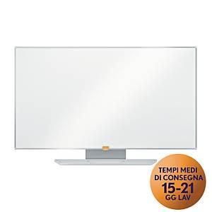Lavagna smaltata Nobo widescreen 40   bianca