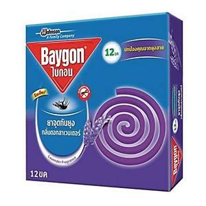 BAYGON ยาจุดกันยุง กลิ่นลาเวนเดอร์ 12ขด