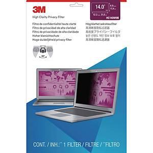 [직배송]3M 고선명 노트북 정보보안기 와이드형 HC215 W9B
