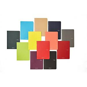 Quaderno Fabriano Ecoqua Maxi A4 quadretti 5 mm colori assortiti