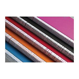 Taccuino Fabriano Soft Touch A5 righe colori assortiti