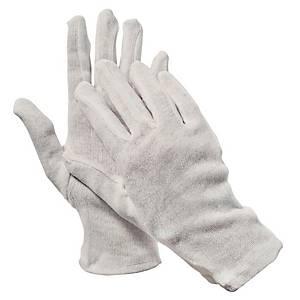 Rękawice CERVA KITE bawełniane, białe, rozmiar 9, para