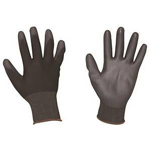 PK10 SK 512 PU-PALM COATED GLOVE M BLACK