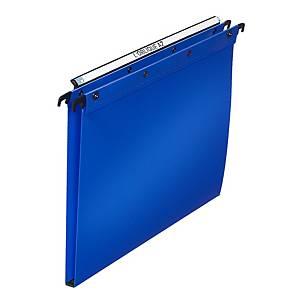 Dossier suspendu pour tiroir Elba Ultimate - PP - dos 15 mm - bleu - par 10