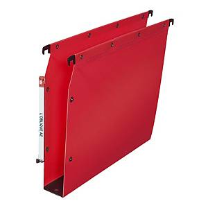 BOX 10 ELBA SUSP FILE PP 50MM RED