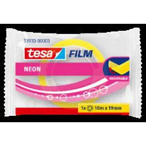 TESA NEON TAPE REMOVABLE 19X10 ROLL MIX