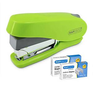 RAPESCO ECO LUNA STAPLER&STAPLES GR