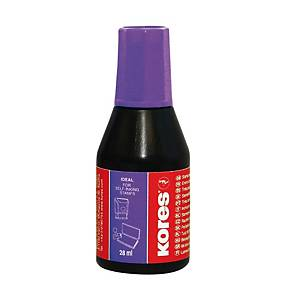 KORES 71348 STAMP PAD INK 28ML PPLE