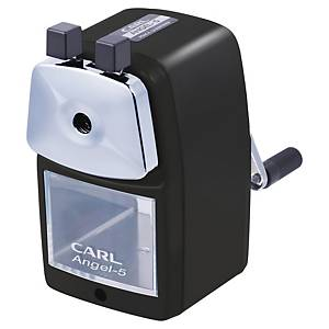 CARL Angel 5 Classic 手搖鉛筆刨 黑色