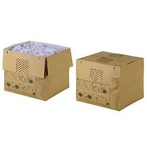Makulatorpose Rexel, genbrugspapir, 115 L, pakke a 50 stk.