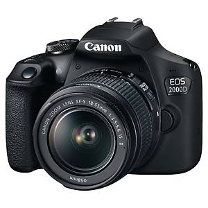 CANON EOS 2000D REFLEX CAMERA BLK