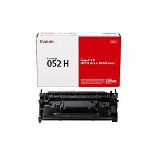 Toner laser CANON 052H para MF421DW y LBP212. Alta capacidade. 9000 paginas