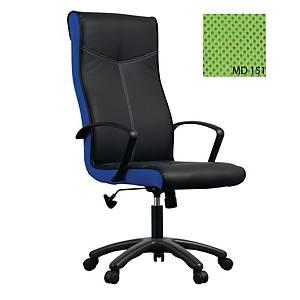 ACURA เก้าอี้ผู้บริหาร รุ่น OPPA/H หนังPU สีดำ-สีเขียว