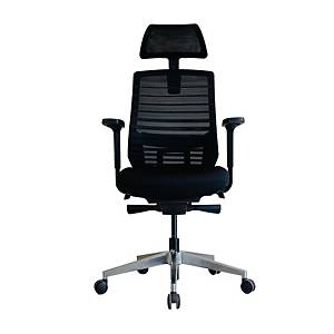 WORKSCAPE LIVORNO EM-801E EXECUTIVE CHAIR MESH FABRIC BLACK