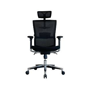 WORKSCAPE TIVOLI EM-208E EXECUTIVE CHAIR MESH FABRIC BLACK