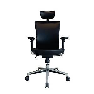 WORKSCAPE เก้าอี้ผู้บริหาร TIVOLI EM208EV หนังเทียม สีดำ