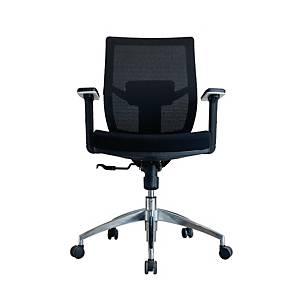 WORKSCAPE เก้าอี้สำนักงาน PRATO EM-209D ผ้าตาข่าย สีดำ