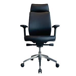 WORKSCAPE เก้าอี้ผู้บริหาร PAVIA EM-802EV หนังเทียม สีดำ