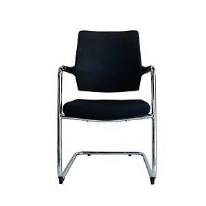WORKSCAPE เก้าอี้พักคอย PAVIA EM-803G สีดำ