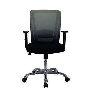 WORKSCAPE เก้าอี้สำนักงาน HANNAH ZR-1021 ผ้าตาข่าย สีดำ