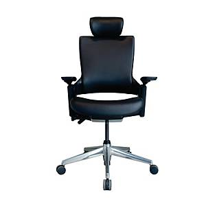 WORKSCAPE PARMA EM-701EV EXECUTIVE CHAIR PVC BLACK