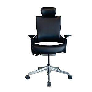 WORKSCAPE PARMA EM-701DV Office Chair PVC Black