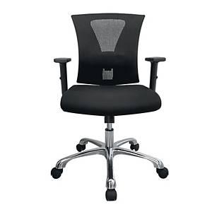 WORKSCAPE เก้าอี้สำนักงาน AVA ZR-1014 ผ้าตาข่าย สีดำ