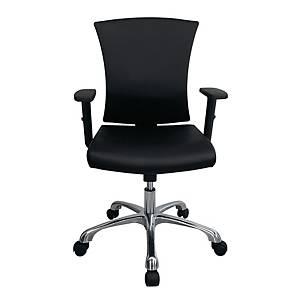 WORKSCAPE เก้าอี้สำนักงาน รุ่น AVA ZR-1014V หนังPU สีดำ