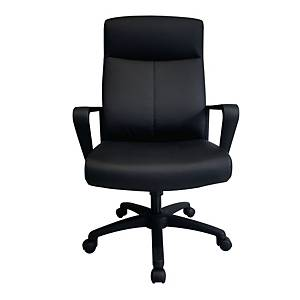 WORKSCAPE LEO ZR-1017 EXECUTIVE CHAIR PU LEATHER BLACK