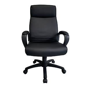 WORKSCAPE เก้าอี้ผู้บริหาร รุ่น EVAN ZR-1018 หนังPU สีดำ