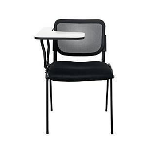 ZINGULAR เก้าอี้เลคเชอร์ รุ่น EMMA ZR-1005/P ผ้า สีดำ