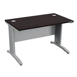 WORKSCAPE โต๊ะทำงานขาเหล็ก IDF-1260 สีโมดิโอ๊ค/ขาว