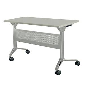 METAL PRO LS-711A-120 Folding Table with Wheels and Steel Modesty Panel