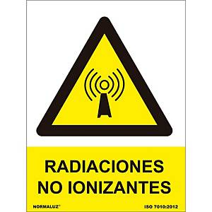 NON-IONIZING RADIATION SIGN 21X30CM