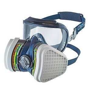 Máscara completa reutilizável 3L Integra + filtro ABEK1P3 - tamanho M/L