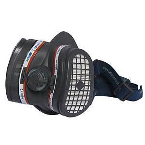 Meia máscara reutilizável 3L Elipse + filtro A1P3 - tamanho M/L