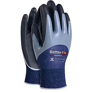 Caja de 12 pares de guantes anticorte 3L Betterfit Ultraoil - talla 9