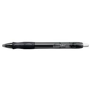 Gelschreiber BIC 964798 Gelocity, Druckmechanik, Strichstärke: 0,35mm, swz, 20St