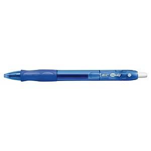 BIC Gelocity Original Gel Pen 0.7mm Blue - Pack Of 16+4