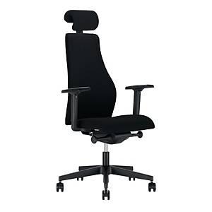 Krzesło NOWY STYL Scandia Hrua, czarne