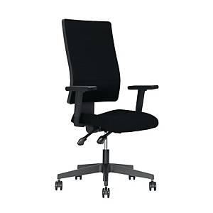 Krzesło NOWY STYL Verder, czarne bez zagłówka