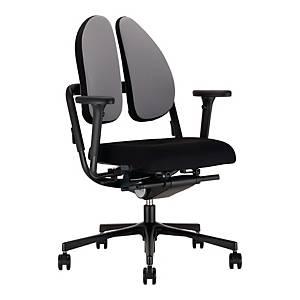 Krzesło NOWY STYL, Xenium Duo Back, czarno-szare*