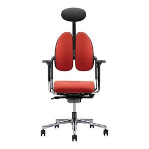 Krzesło NOWY STYL, Xenium Duo Back, czerwono-szare*