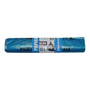PK10 GARBAGE BAGS PAPER 60L BLUE