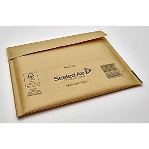 Luftpolstertaschen Mail Lite CD-ROM Innenmaße: 180x160mm goldgelb 5St