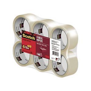 3M 스카치 포장용 테이프 3615-2 투명 (48mm X 50M X 6롤)