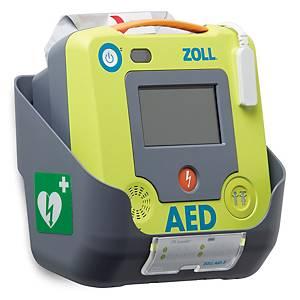 Supporto a parete per ZOLL AED 3, plastica, grigio