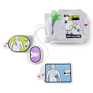 Elettrodo CPR Uni Padz per defibrillatore a pollici AED 3,conservaz. 5 anni